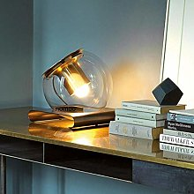 Table Lamp Creative Round Bedroom Bedside Led