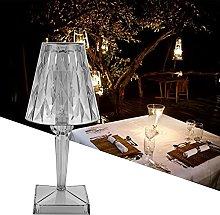 Table Lamp,Crystal Desk Lamp,LED Crystal Table