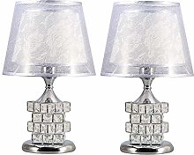 Table Lamp Desk Lamp Light A Piar of Crystal Table