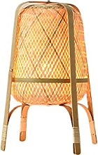 Table lamp Desk Lamps Bamboo Woven Vertical Table