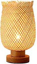 Table lamp Desk Lamps Creative Handmade Bamboo