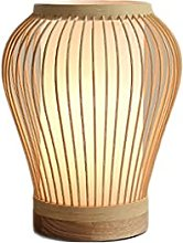 Table lamp Desk Lamps Small Fresh Bamboo Art