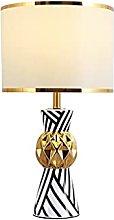 Table lamp Desk Lamps Zebra Pattern Ceramic Table