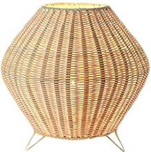 Table lamp Desk Lamps Zen-Like Rattan Table