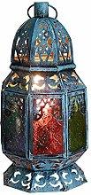 Table Lamp Glass Color Desk Lamp, Creative Retro