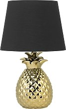Table Lamp Gold PINEAPPLE