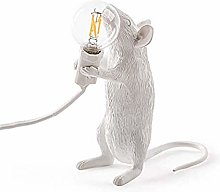 Table lamp in The Shape of a Mouse Made of