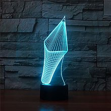 Table Lamp Lamps,Colorful 3D Pencil,Creative Touch