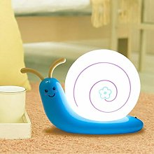 Table lamp LED cute cartoon LED snail next to