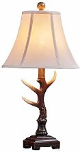 Table Lamp Led Handmade Resin Cotton Linen