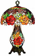 Table Lamp Pastoral Creative Retro Rose Table Lamp