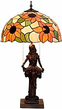 Table Lamp Table Lamp Vintage Sunflower Color