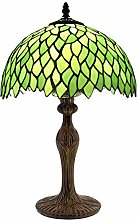 Table Lamp Tiffany Style Bedside Lamp Green