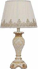 Table Lamp White Modern European High Light Yellow