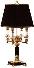 &Table lights Black Crystal Lamp, High-quality