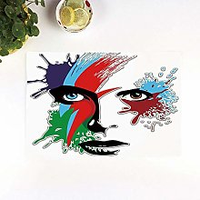Table Mats,David Bowie Decor,Bowies Eyes Ziggy
