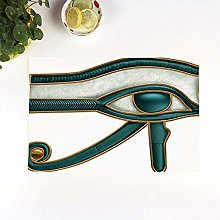 Table Mats,Egyptian,Eye of Horus Wadjet Ancient