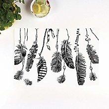 Table Mats,Ethnic,Simplistic Hand Drawn Design of