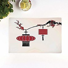 Table Mats,Lantern,Chinese Lantern Hang on a