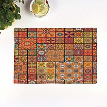Table Mats,Moroccan,Collection of Moroccan Style