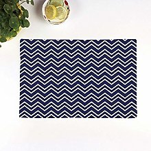 Table Mats,Navy Blue Decor,Navy Blue Back grounded