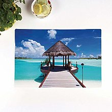 Table Mats,Ocean,Jetty and the Ocean View on