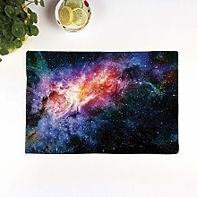 Table Mats,Space Decorations,Starry Deep Outer