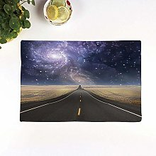 Table Mats,Surrealistic,Highway Leads Milky Way