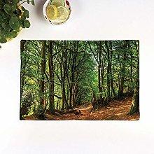 Table Mats,Woodland Set,Woodland Scene with Trees