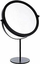 Table mirrors - GOODCHANCEUK - Rotating metal mirror - Adjustable standing mirror - 19 cm