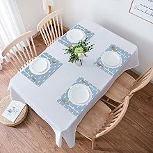 Table Placemats,Set of 4 Placemats,Nautical