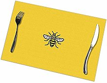 Table Placemats Set of 6 Manchester Worker Bee