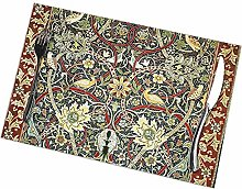 Table Placemats Set of 6 William Morris