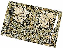Table Placemats Set of 6 William Morris Pimpernel