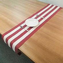 Table Runner 1pcs 30×180cm Stripe PVC Table