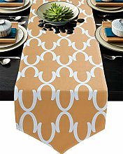 Table Runner Dinner Tablecloth Decoration Moroccan