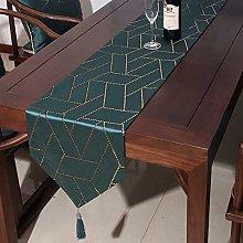 Table Runner Embroidered Damask Jacquard Non Slip