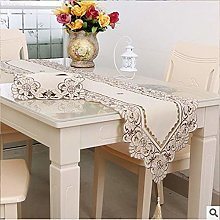 Table Runner Floral hion Waterproof Tablecloth
