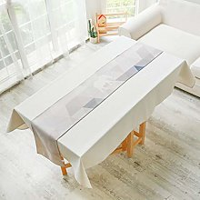 Table Runner Party Cotton And Linen Tablecloth,