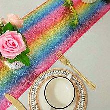 Table Runner Rainbow 14x90 Inch Round Table Runner