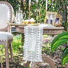 Table Runner Table Runner White Romantic Daisy
