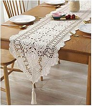Table Runners Embroidered Lace Table Linens Decor