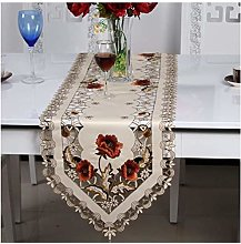 Table Runners for Dining Room Embroidery Hollow