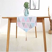 Table Runners for Dining Room Triangle Pattern