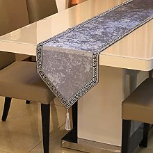 Table Runners For Dining Room,Vintage Grey Table