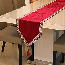 Table Runners For Dining Room,Vintage Red Table