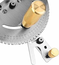 Table Saw Brass Convenient Accurate Miter Gauge