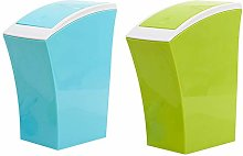 Table Top Bin for Home, Set of 2, Recycling Bins