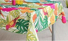 Tablecloth: 160cm Round/Paradise Leaves