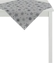 Tablecloth Apelt Colour: Anthracite and silver